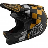 TROY LEE DESIGNS D3 Fiberlite Raceshop Black / Gold