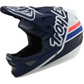 TROY LEE DESIGNS D3 Fiberlite Silhouette Navy / White