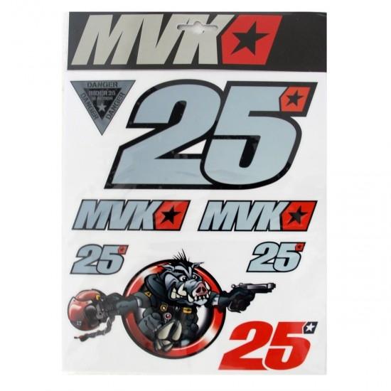 Autocollant VR46 Maverick Viñales 25 330003