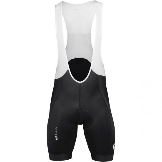 Pantaloncino POC Essential Road VPDS 2019 Bib Shorts Uranium Black