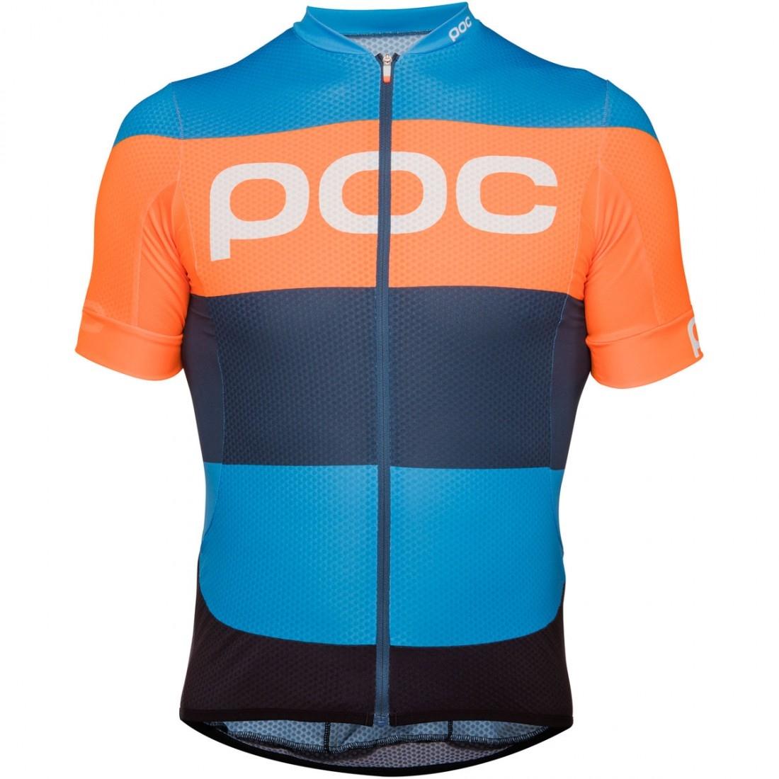 POC Essential Road Logo Furfural Multi Blue Jersey · Motocard 1334eb568