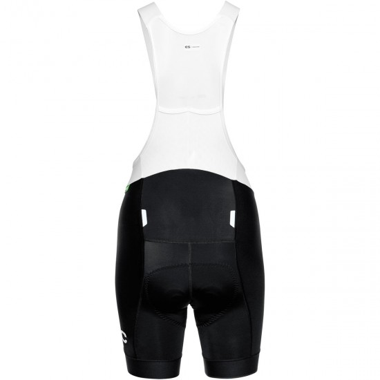 Pantaloncino POC Essential Road VPDS Bib Shorts Lady Black Uranium