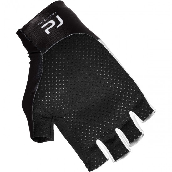 POC Raceday Aero Hydrogen White / Uranium Black Gloves
