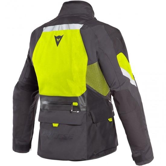 DAINESE Gran Turismo Gore-Tex Black / Fluo-Yellow Jacket
