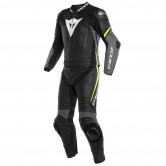DAINESE Laguna Seca 4 Black / Charcoal-Grey / Fluo-Yellow