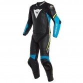 DAINESE Laguna Seca 4 Black / Fire-Blue / Fluo-Yellow