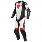 Laguna Seca 4 Black-Matt / White / Red Fluo