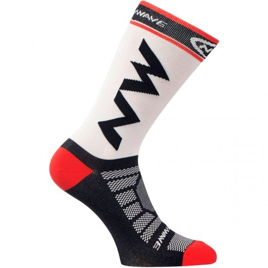 NORTHWAVE Extreme Light Pro White / Black / Red Socks