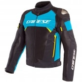 DAINESE Dinamica Air D-Dry Black / Fire-Blue / Fluo-Yellow