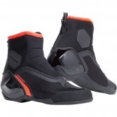 DAINESE Dinamica D-WP Black / Fluo-Red