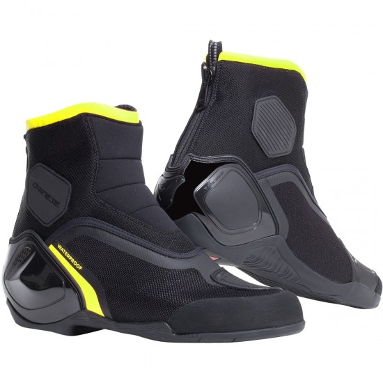 Botas DAINESE Dinamica D-WP Black / Fluo-Yellow