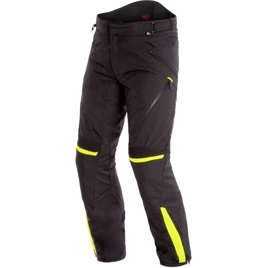 Pantalon DAINESE Tempest 2 D-Dry Black / Fluo Yellow