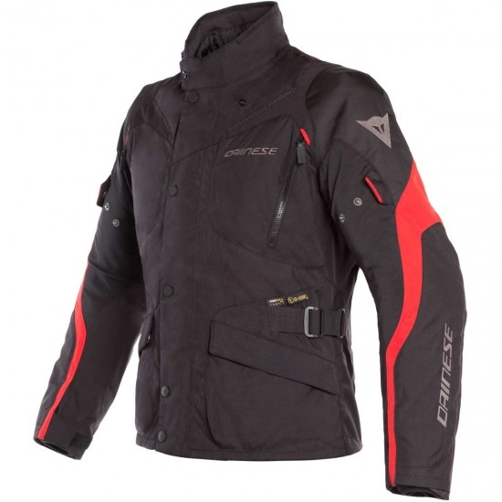 Jacke DAINESE Tempest 2 D-Dry Black / Tour Red