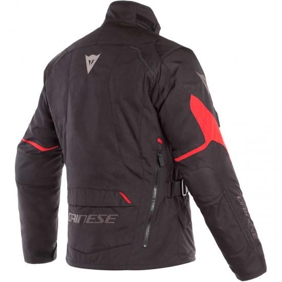 DAINESE Tempest 2 D-Dry Black / Tour Red Jacket