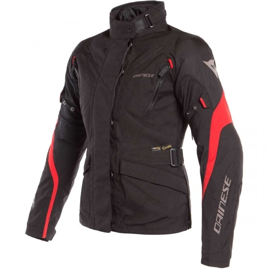 Blouson DAINESE Tempest 2 D-Dry Lady Black / Tour Red