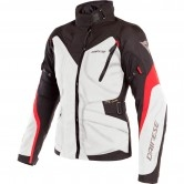 DAINESE Tempest 2 D-Dry Lady Light Grey / Black / Tour Red