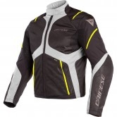 DAINESE Sauris D-Dry Black / Quarry / Yellow Fluo