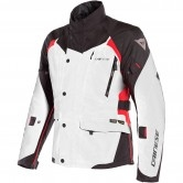 DAINESE X-Tourer D-Dry Light Grey / Black / Tour Red