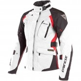 DAINESE X-Tourer D-Dry Lady Light Grey / Black / Tour Red
