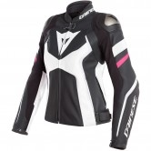 DAINESE Avro 4 Lady Black-Matt / White / Fucsia