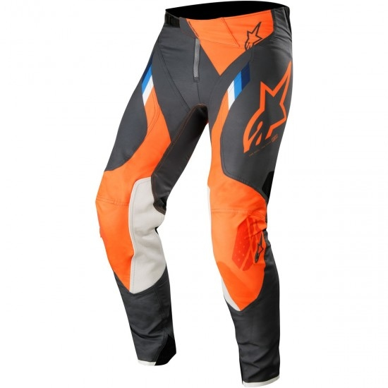 Pantalone ALPINESTARS Supertech 2019 Anthracite / Orange Fluo