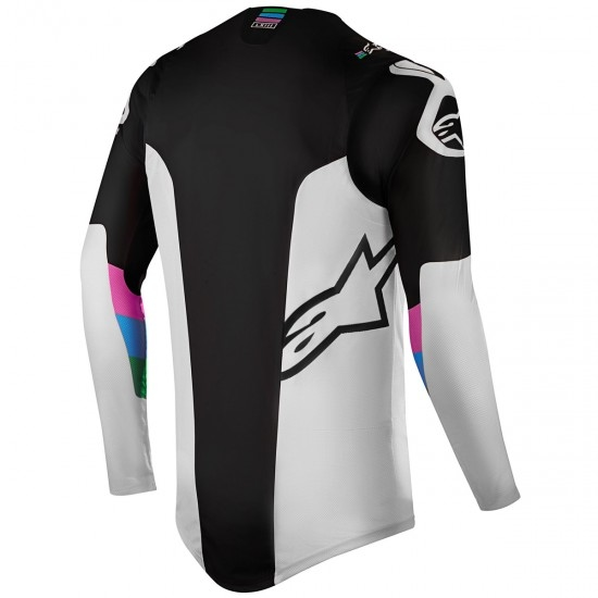 Jersey ALPINESTARS Supertech 2019 Vision LE Cool Grey / Black
