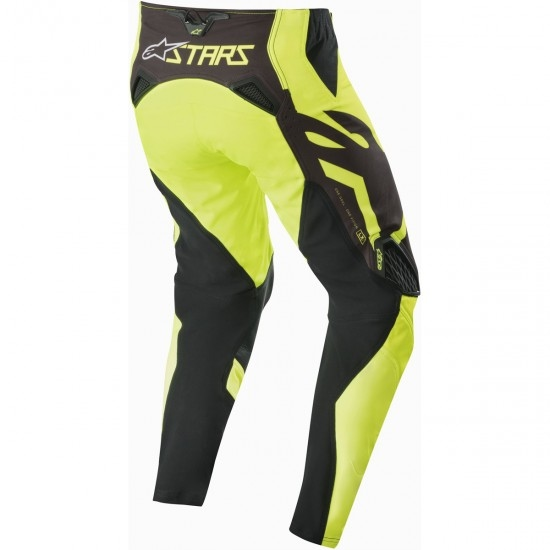 Pantalon ALPINESTARS Techstar 2019 Factory Black / Yellow Fluo
