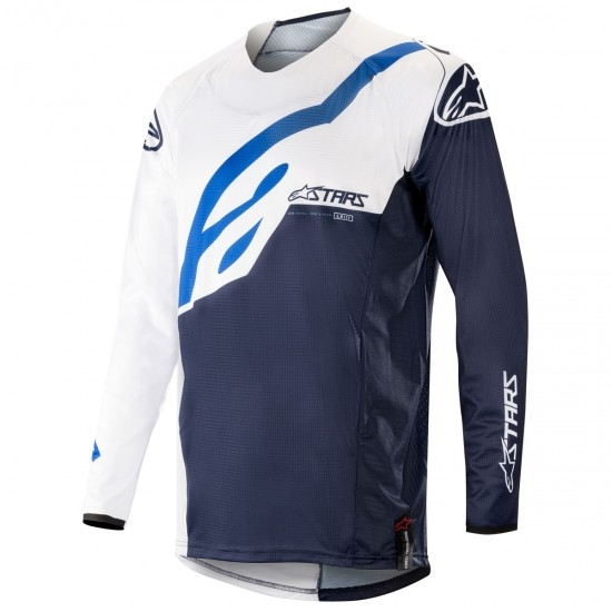 Jersey ALPINESTARS Techstar 2019 Factory White / Dark Navy