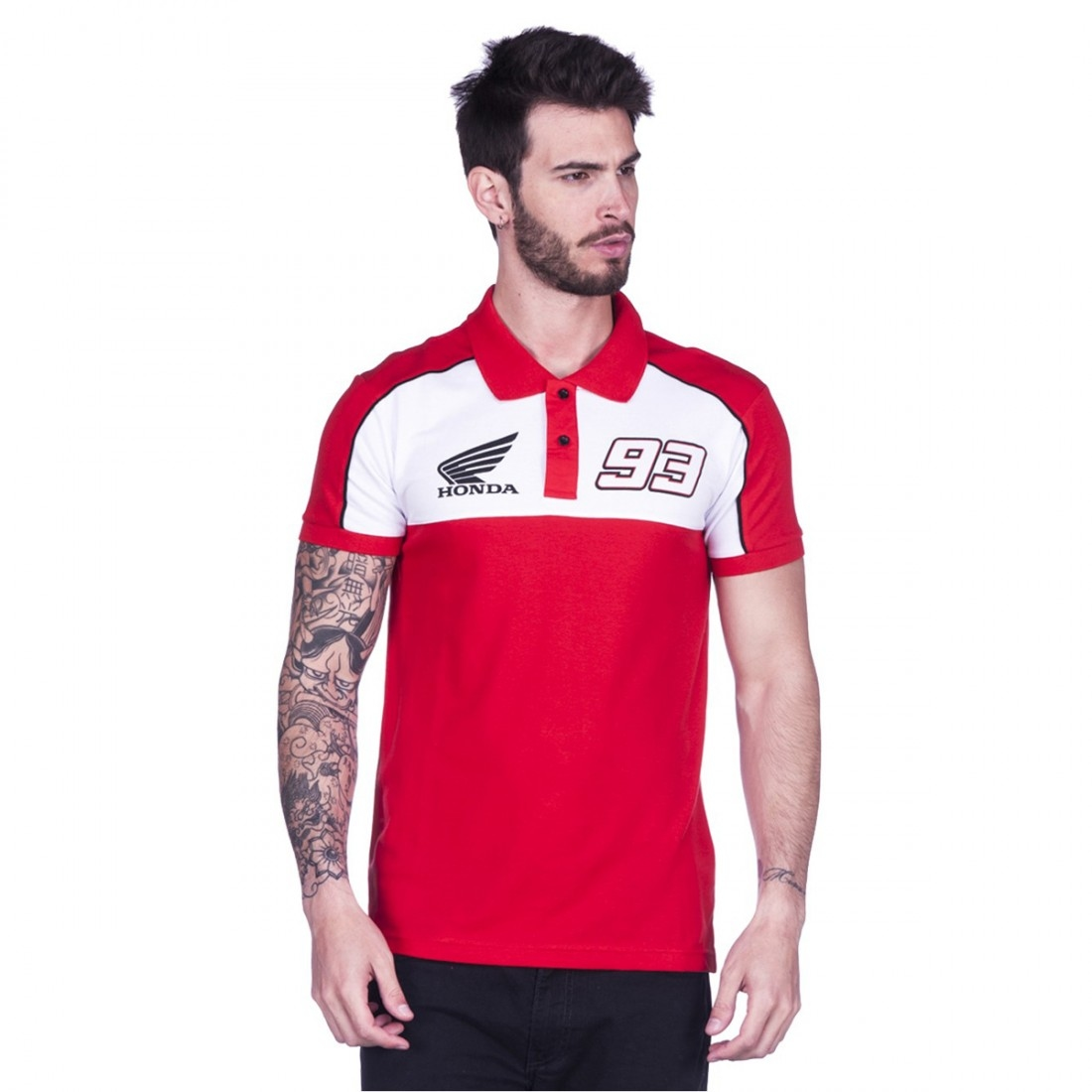 ab49665cd7b28 Camiseta GP APPAREL Marc Marquez 93 1718002 · Motocard