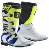 SG-J Junior White / Blue / Yellow Fluo