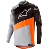 ALPINESTARS Racer 2019 Supermatic Light Grey / Orange Fluo / Black
