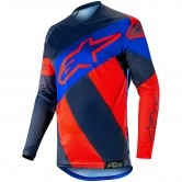 ALPINESTARS Racer Tech 2019 Atomic Red / Dark / Navy Blue