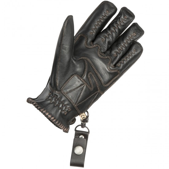BY CITY Second Skin Black Gloves