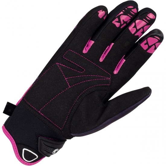 BERING Grissom Lady Black / Lavender Gloves