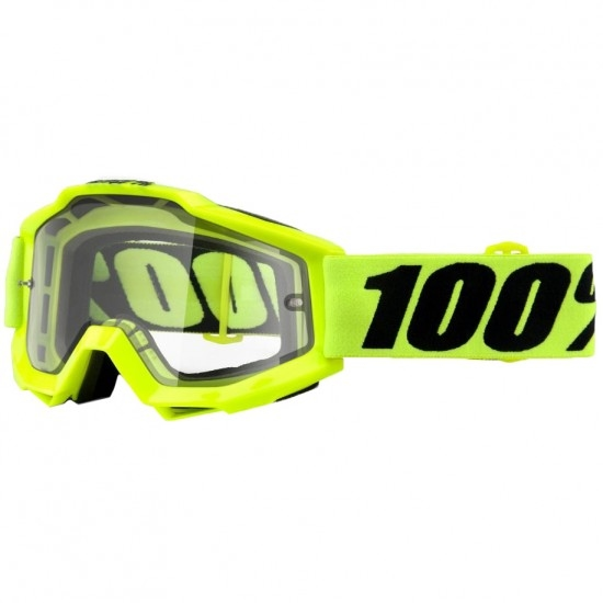 Máscara / Gafas 100% Accuri Junior Fluo Yellow