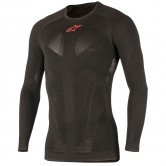 ALPINESTARS Tech Top LS Summer Black / Red