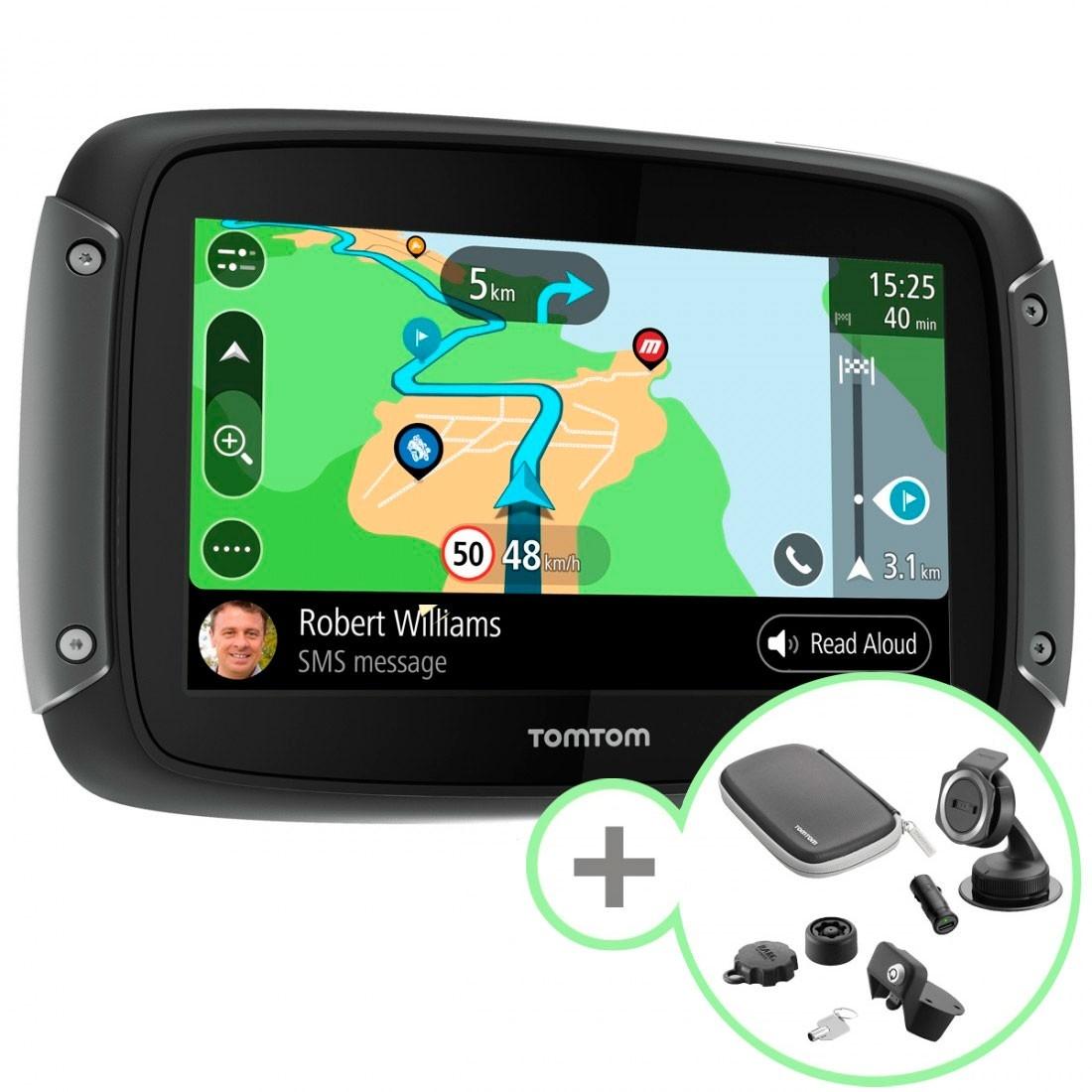 30b3459ce92eb1 TOM TOM Rider 550 Premium Pack Electronics · Motocard