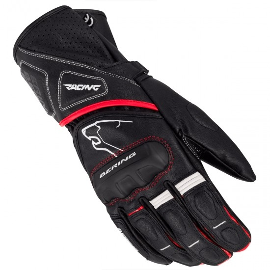 BERING Run-R Black / Red Gloves