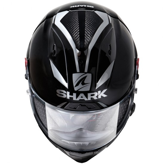 Casco SHARK Race-R Pro GP 30TH Anniversary LE Black / Carbon / Pearl