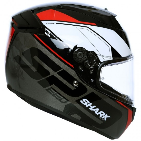 Casque SHARK Speed-R SE Sauer Black / Anthracite / Red