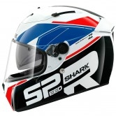 SHARK Speed-R SE Sauer White / Blue / Red