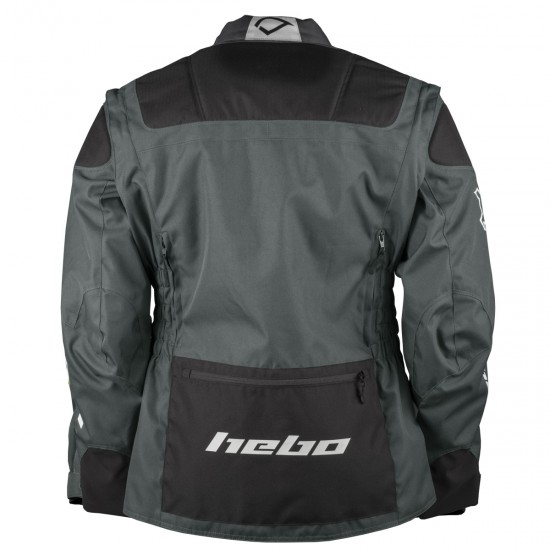 HEBO Cross-Over Black Jacket