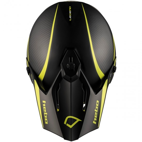 Casco HEBO Legend Carbon Lime