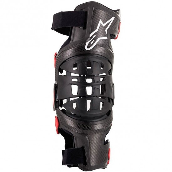 ALPINESTARS Bionic-10 Carbon Left Black / Red Protection