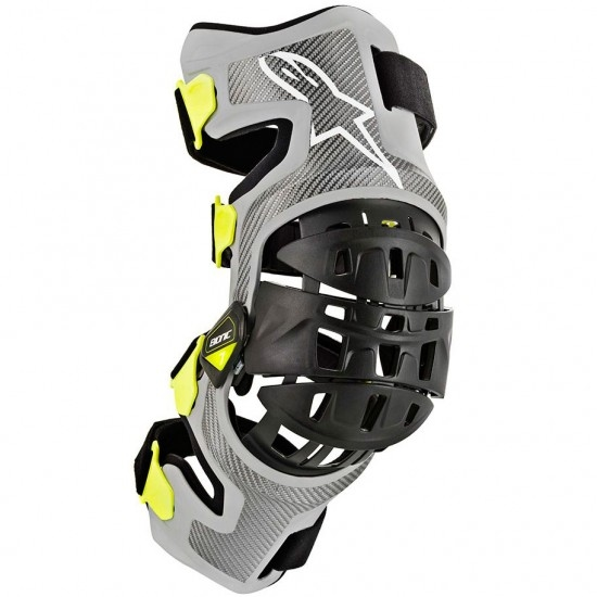 ALPINESTARS Bionic-7  Silver / Yellow Fluo Protection