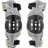 ALPINESTARS Bionic-7  Silver / Yellow Fluo