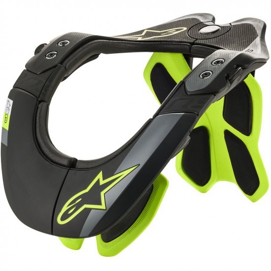 ALPINESTARS BNS Tech-2 Black / Yellow Fluo Protection