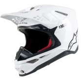 ALPINESTARS Supertech S-M10 Solid White Glossy