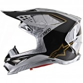 ALPINESTARS Supertech S-M10 2020 Alloy Silver / Black Carbon / Gold
