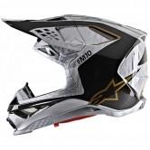 Supertech S-M10 2020 Alloy Silver / Black Carbon / Gold
